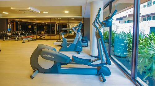 Fitness Studio in Ritz Carlton Hotel