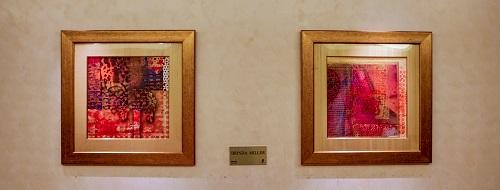Paintings in Ritz Carlton Hotel