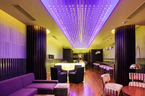 Artistic luxuries in Ritz Carlton Hotel