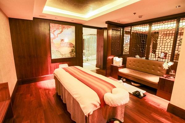 Luxurious Spa in Ritz Carlton Hotel