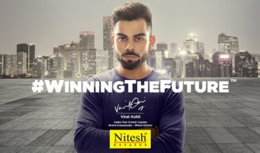 Virat Kohli and Nitesh Estates – A winning partnership